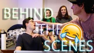 Behind The Scenes of Watching Strange Porn w/ Friends Challenge