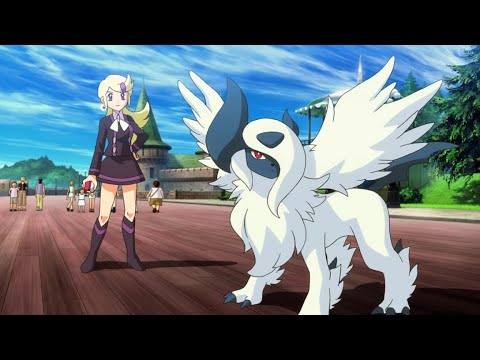 mega charizard vs mega absol | pokemon xy special episodes