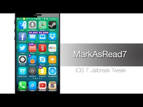 MarkAsRead7 let's you clear your badges from your Notification Center - iPhone Hacks