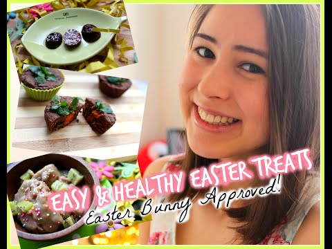 Easy, Healthy & Fun Treats for Easter!