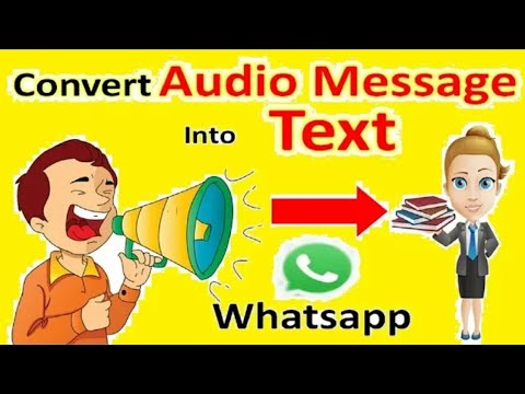 How to convert audio into text | whatsapp audio into text | Hindi/Urdu | Android Tricks | 2017-2018