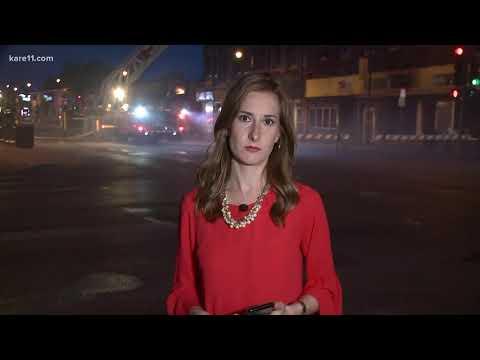 Crews battling fire in south Minneapolis