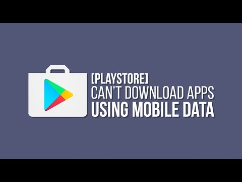 How to FIX Playstore Download From WiFi Only
