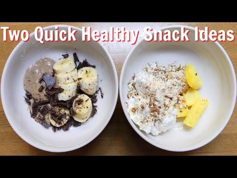 Healthy Snack Ideas x 2
