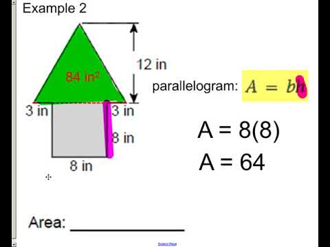 lesson - area of composite shapes
