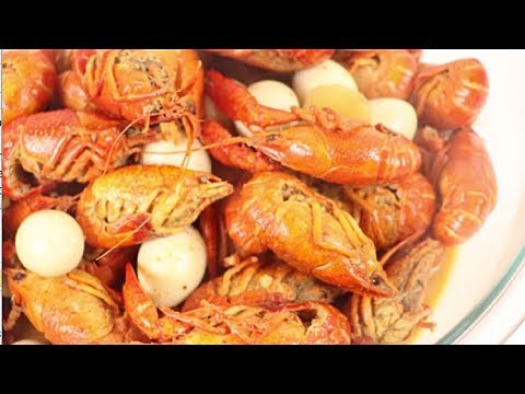 How to cook Spicy Curry Crawfish