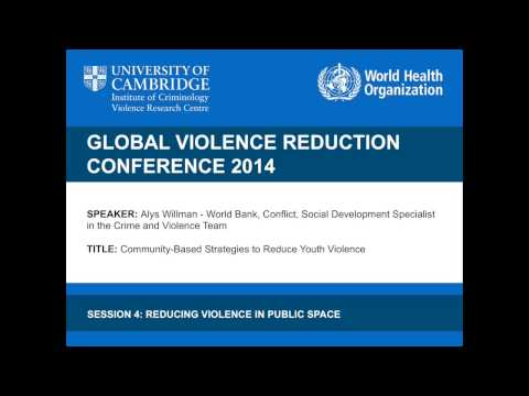 Alys Willman - Community-based Strategies to Reduce Youth Violence