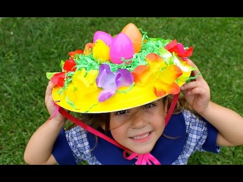 How to make an easy Easter bonnet