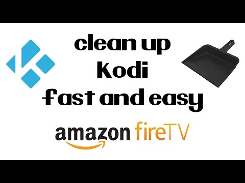 How To Free Up Storage on Your Amazon Fire TV Stick and Clear The Cache in Kodi Fast and Easy