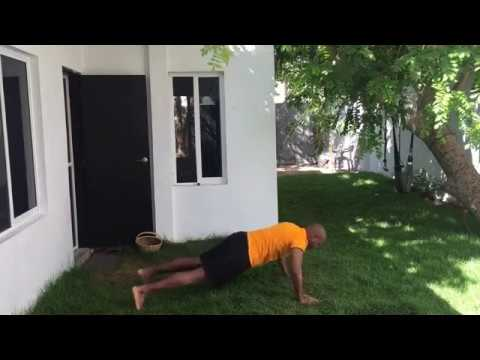 Walk Out Push Up Exercise For Core Strength And Tone - CHD