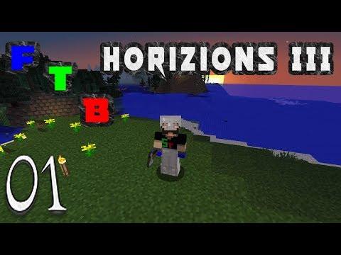 Minecraft Feed The Beast Horizons 3 - New FTB Pack (1)