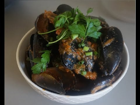 How to make Chilli Mussels.