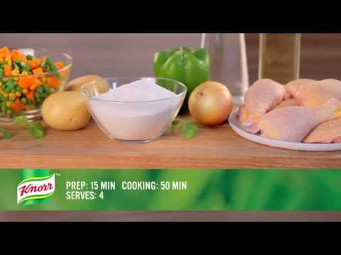 Traditional Chicken Stew and Pap Recipe