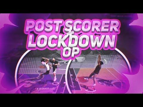 POST SCORER + PURE LOCKDOWN - THE RETURN OF THE 2K17 LINEUP - NBA 2K18