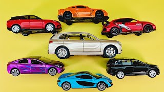 Video About Various Cars and a BMW SUV