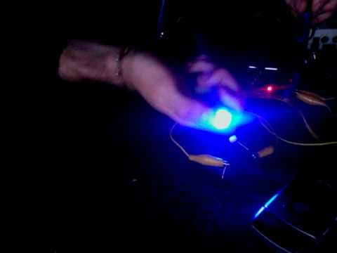 Oscillator controlled by light