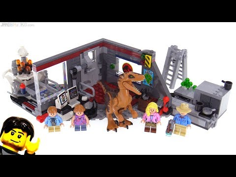 LEGO Jurassic Park Velociraptor Chase review! 75932