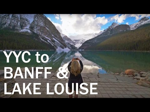 YYC to Banff & Lake Louise: Scenic Drive into the Canadian Rockies