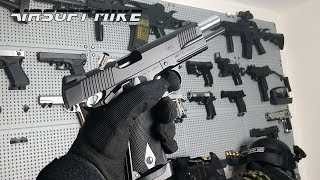 ASG STI 1911-A1 SHELL EJECTING Gas Blowback Airsoft Pistol RSS Unboxing Review
