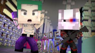Minecraft - BATALHA DE BEBÊS: DEADSHOT vs CORINGA (Esquadrão Suicida)