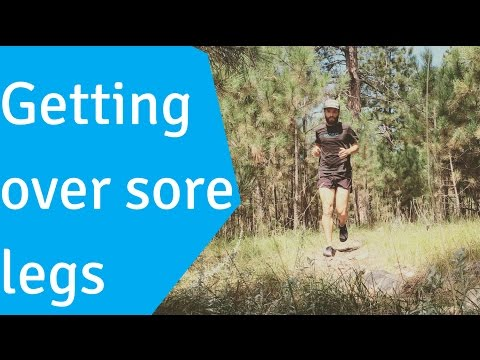 How to Decrease Leg Soreness From Running