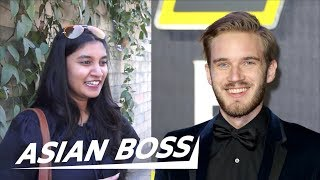 What Indians Think Of PewDiePie vs T-Series [Street Interview] | ASIAN BOSS
