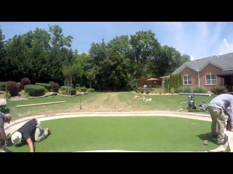 Back Yard Putting Green time lapse