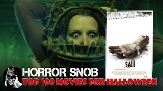 October 2020 Rankings: The Top 100 Movies for Halloween - part 2 (#80-61)