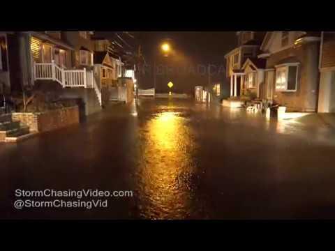 New Jersey, Brooklyn, & Rockaways Noreaster Coastal Flooding - 1/23/2017