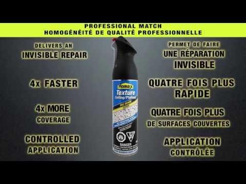 Homax Pro Grade Popcorn Ceiling Texture 4175 (French & English)