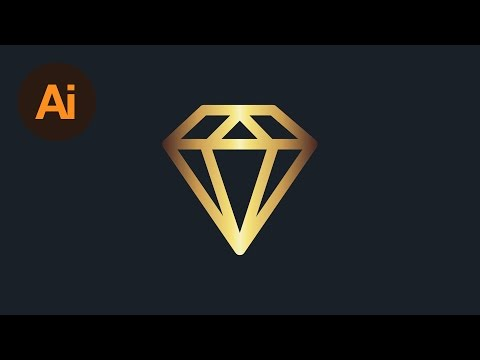 Learn How to Create a Gold Effect in Adobe Illustrator | Dansky