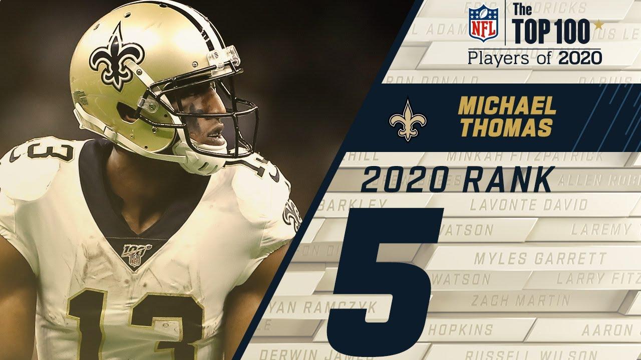 #5 Michael Thomas (WR, Saints) | Top 100 NFL Players of 2020