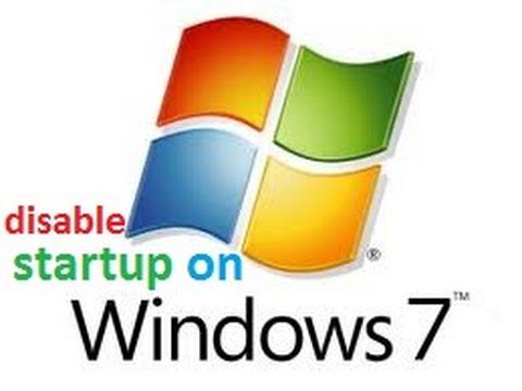 Disabling Startup Programs in Windows 7, Vista, or XP