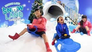 夏でも雪遊びしちゃおう!スノーランド Snow Land@harbor  Pattaya Thailand