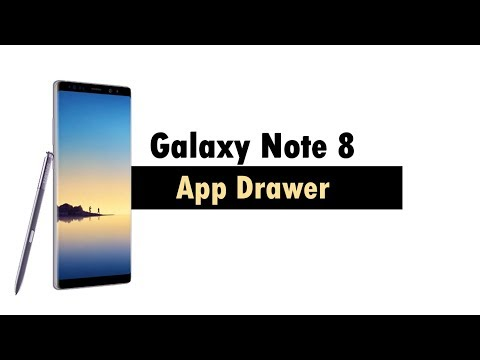 Galaxy Note 8 How to Get The App Drawer Back
