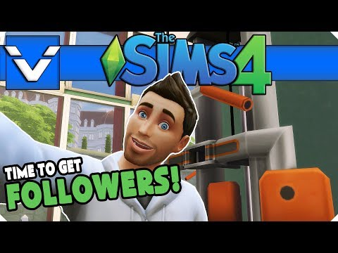 Sims 4 Mini Series   Time To Get Followers!   Gameplay / Let's Play   Part 16