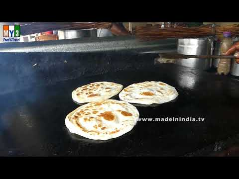 How To Make Layered Soft Parotta | Tamilnadu Style Paratta