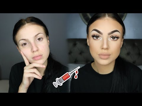 FACE SURGERY WITH MAKE UP ?!
