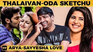 Download Arya - Sayyeshaa Love Matter தெரியாம நா... - Sathish Reveals the Inside Story! | Megha Akash | MY451 Video
