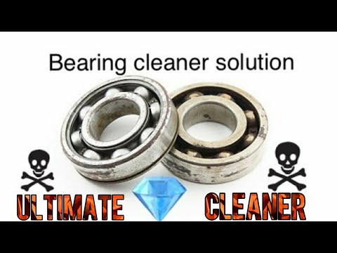 How to make a cleaner for dirty  bearings  | Homemade