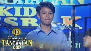 Tawag ng Tanghalan Kids: Lift John Demonterverde is the resbaker of the day!