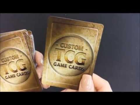 Custom TCG Token Cards