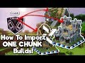 Minecraft: How To Import Builds Using Structure Blocks! [Tutorial]