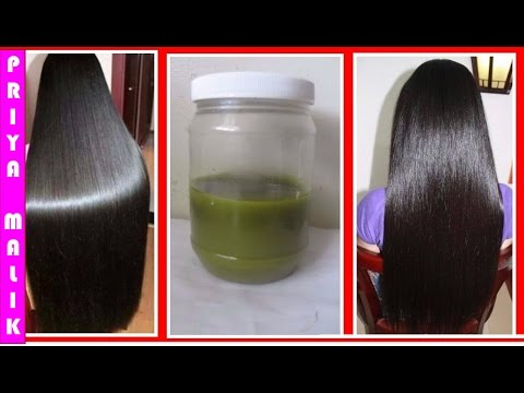 How To Grow Hair Faster || How To Grow Long Hair, Thick Hair Naturally With Homemade Herbal Hair Oil