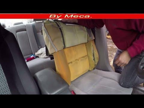 How to Repair the backrest Foam  | How to Fix seat foam.  diy