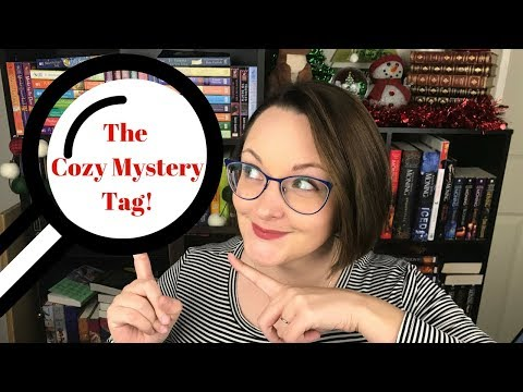 The Cozy Mystery Book Tag!