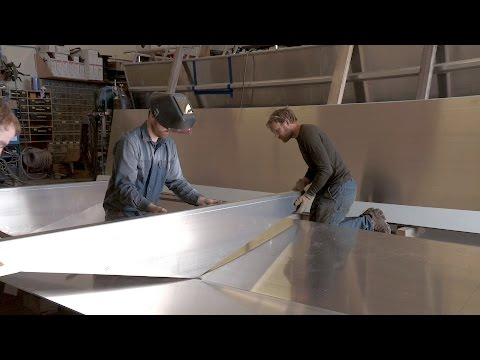 This Alaskan Is Building His Own Boat From Scratch