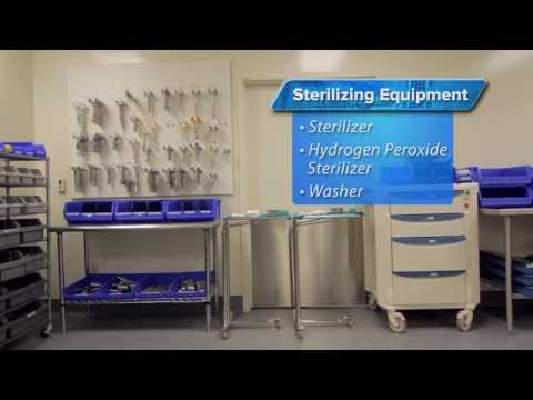 Sterile Processing room and equipment Florida Hospital Nicholson Center