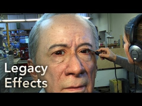 GIANT ANIMATRONIC HEAD: SIEMENS Behind The Scenes - Legacy Effects