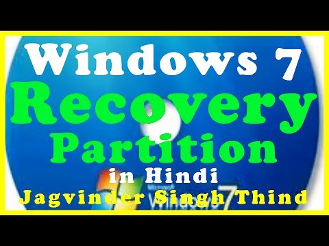 Windows 7 Recovery Bootable & Installer Partition for Troubleshooting